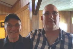 Pierre VE2PMQ  gagant du 100$ de Radioworld avec Paul VA2PGR