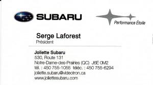Joliette Subaru 2013