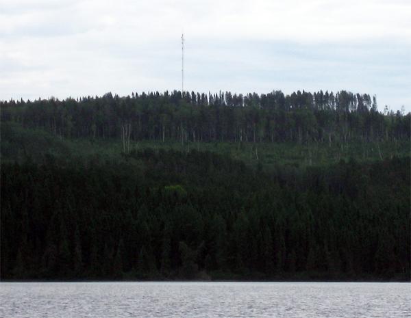 Vue du Lac Limpide